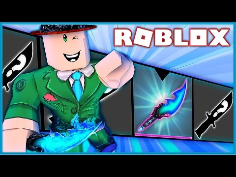 I GOT THE RAREST GODLY KNIFE IN MURDER MYSTERY 2!!!   Roblox