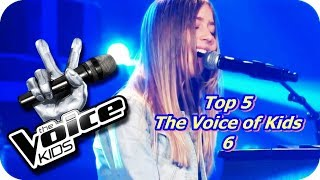 Top 5 - The Voice of Kids 6