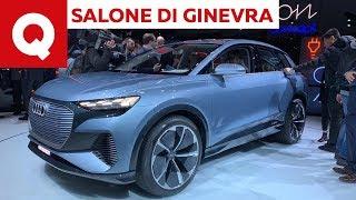 Audi Q4 e-tron, la baby Q5 100% elettrica  - Salone di Ginevra 2019 | Quattroruote