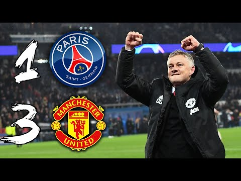 solskjaer s miracle in paris psg 1 3 man utd youtube psg 1 3 man utd