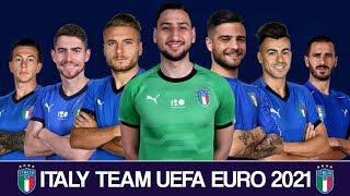 Italy New Squad UEFA Euro 2021 Italy New And Young Players Euro 2021