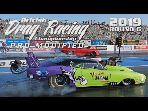 Drag Racing Pro Mod Championship UK | Final Round 2019 - Santa Pod Raceway