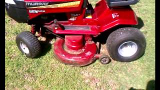 How to change blades on a '94 Murray Hydrostatic Riding Mower