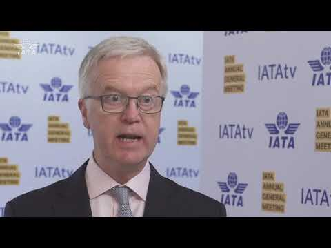 Interview with Brian Pearce, IATA's Chief Economist, on the industry economic outlook