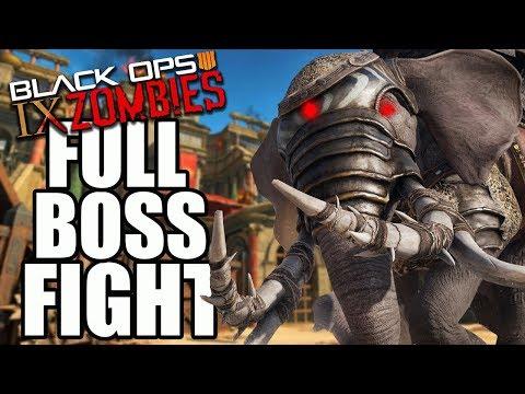 IX BOSS FIGHT EASTER EGG | Black Ops 4 IX (Call of Duty Black Ops 4 Zombies)