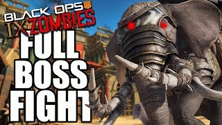 "IX ""BOSS FIGHT"" EASTER EGG 