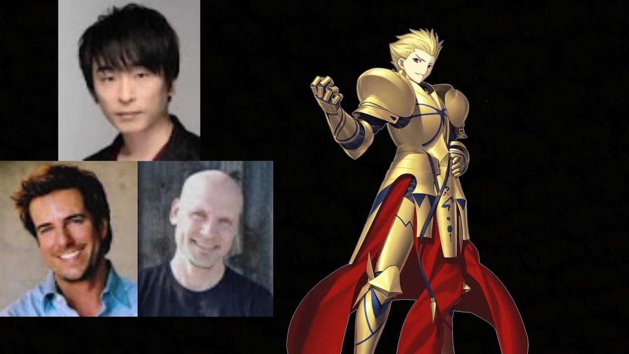 Anime Voice Comparison- Gilgamesh (Fate)
