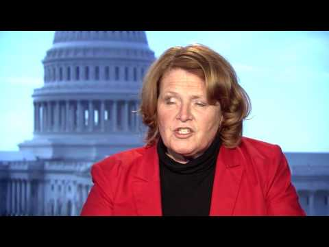US Senator Heidi Heitkamp on Secretary of State Rex Tillerson