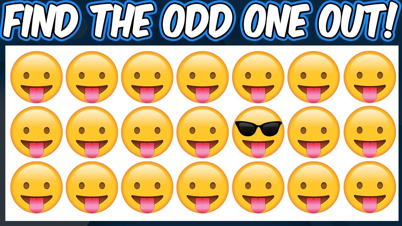 Download Find The Odd Emoji Out | Spot The Difference Emoji | Emoji Puzzle Quiz | Find the difference