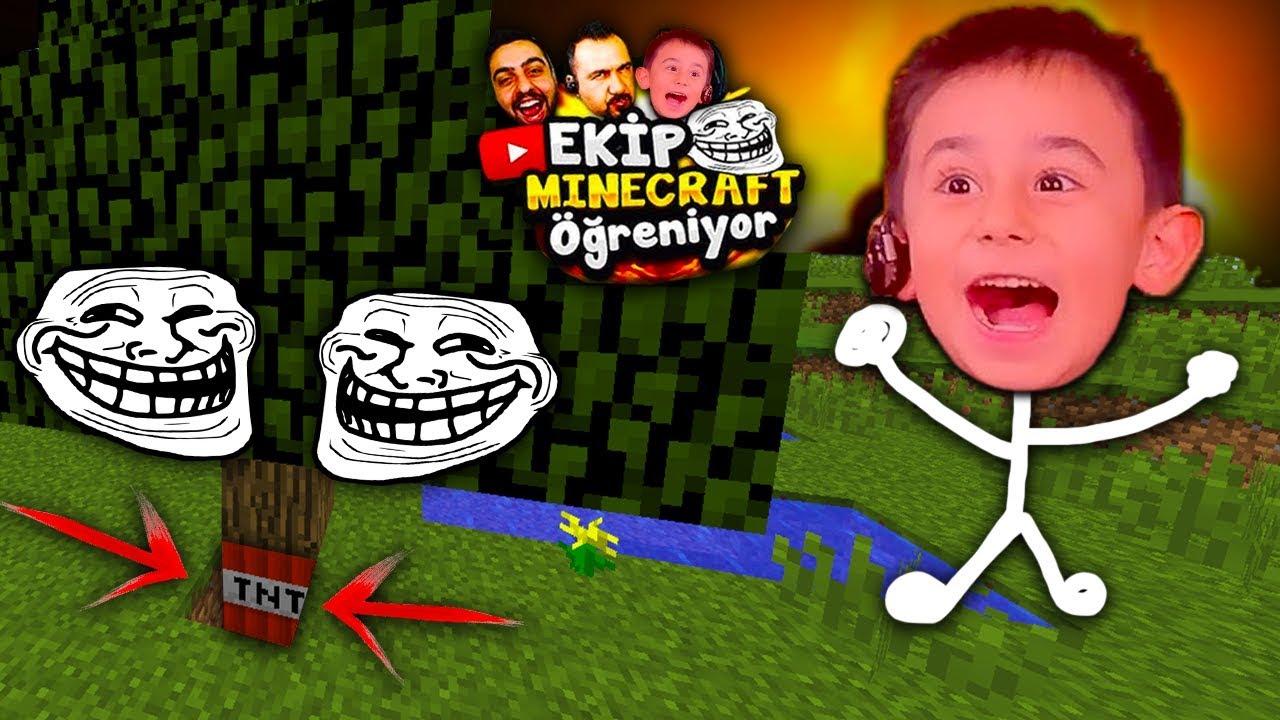 Download EGOMEN DELİRDİ :D ve EKİP TROLL ! - EKİP Minecraft ÖĞRENİYOR