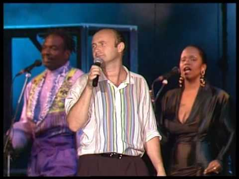 Phil Collins - Something happened on the way to heaven (live 1990) -  Phil Cam