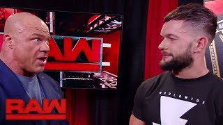Finn Bálor declares for the 2018 Men's Royal Rumble Match: Raw, Jan. 1, 2018