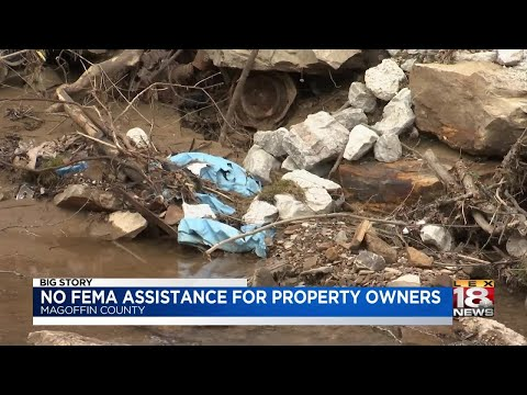 No FEMA Assistance For Property Owners