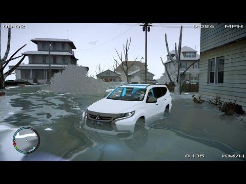 Pajero Sport 2016 on Flood GTA IV PC