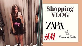 SHOPPING VLOG Zara Massimo Dutti H M LAUREATKA
