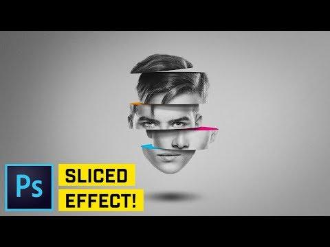 Sliced Head Manipulation - Photoshop CC Tutorial
