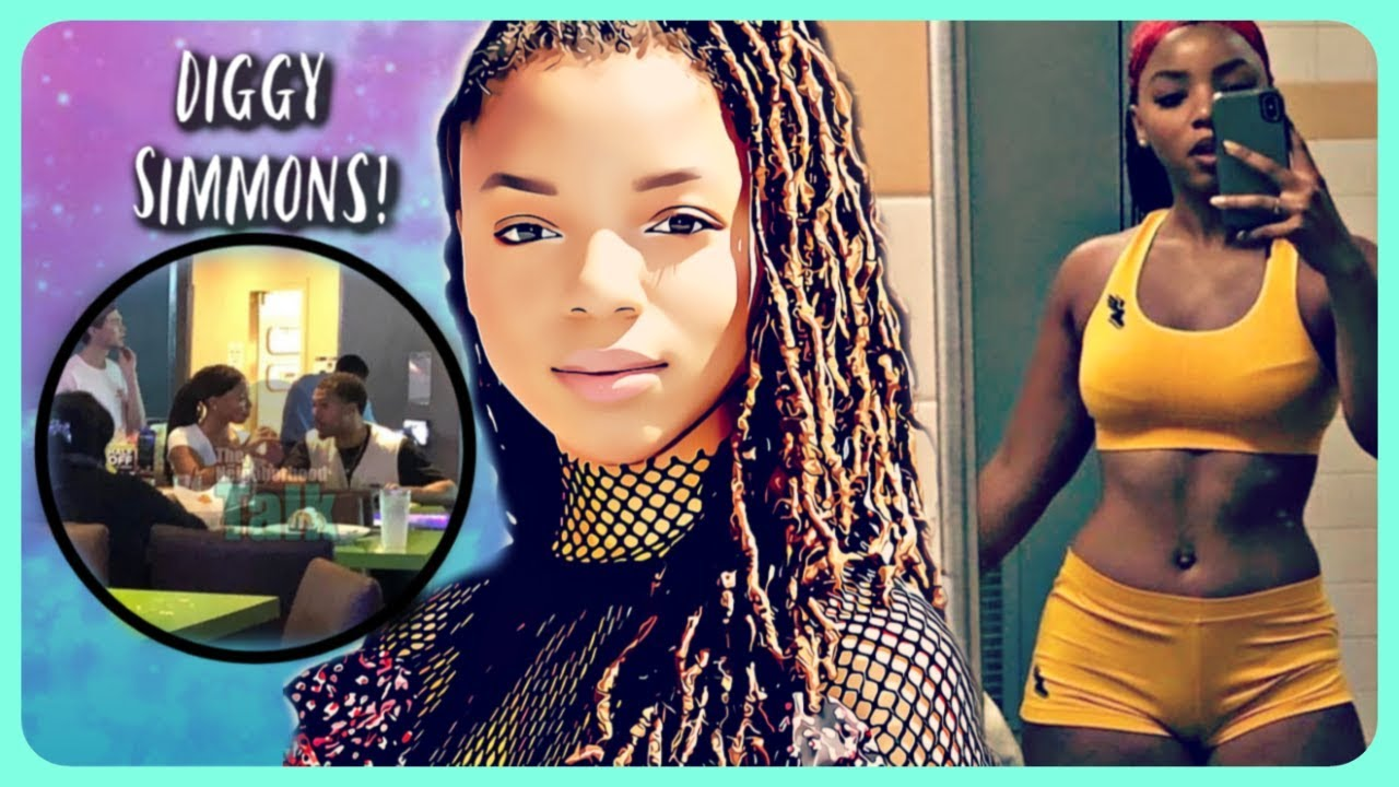 Diggy Simmons dating zonnique