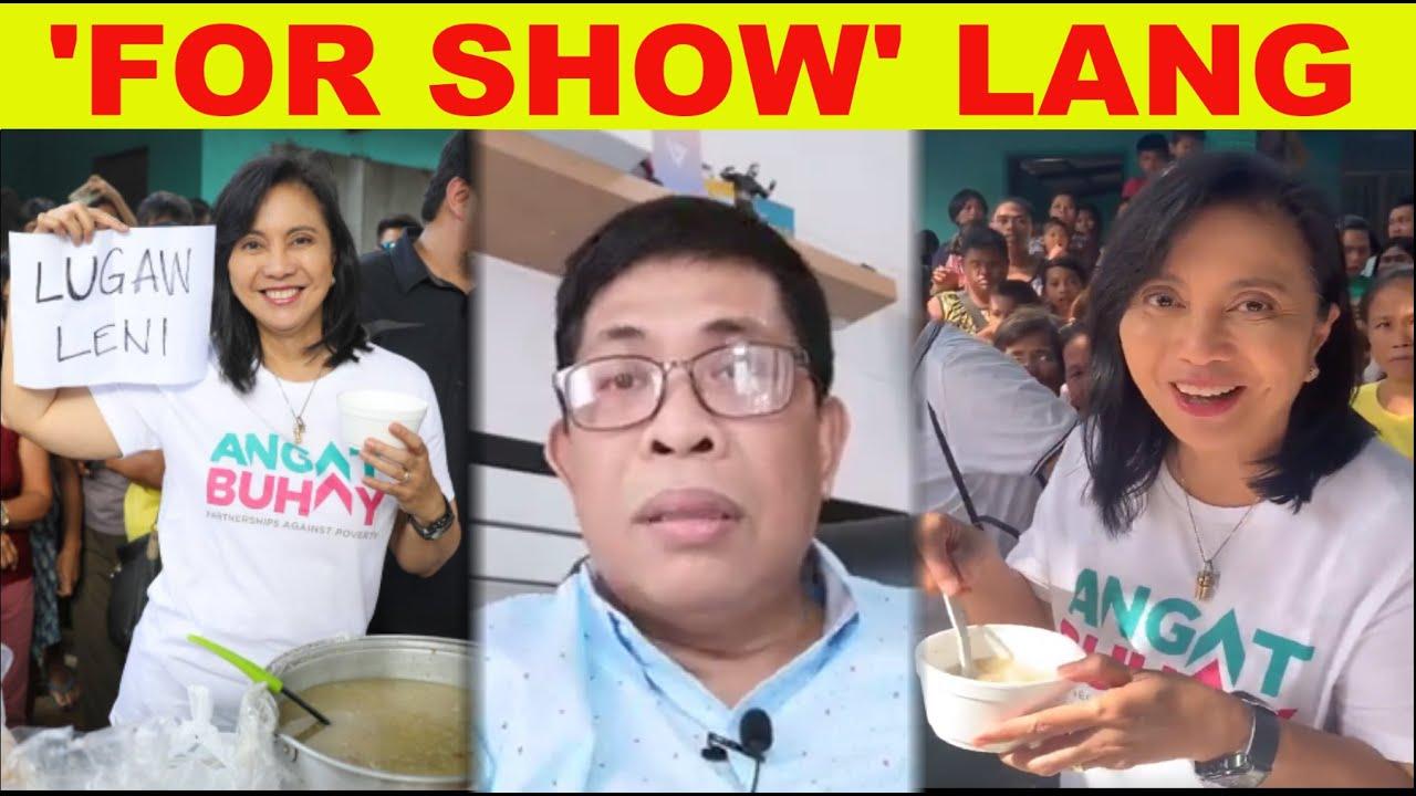 Download LENI TUMULONG NA, PERO BAKIT KAYA HINDI PA DIN MAAPPRECIATE?