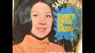 YOKO KISHI        STANOTTE SENTIRAI UNA CANZONE      1968