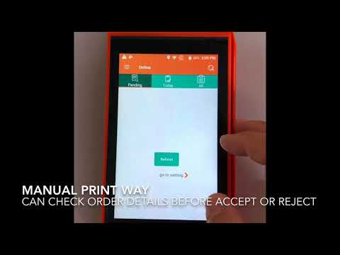 GOODCOM Android POS Printer for Printing Resturant online order