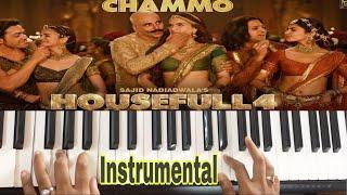 Chammo cover   Housefull 4   Keyboard   Sudeshna Instrumentals
