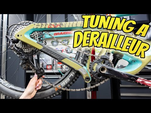 How To Tune Bike Gears The Easy Way - Tuning A Rear Derailleur