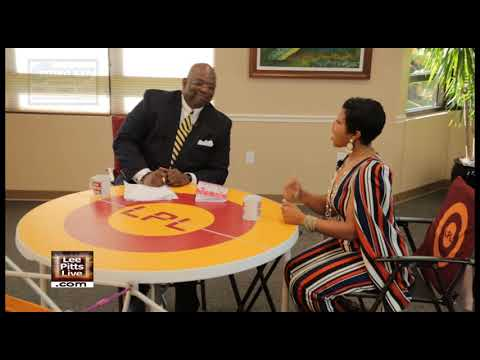 """TaSheekia Perry, Author, """"Dressing My Inner Beauty Journal"""" on Lee Pitts Live on FOX 4"""