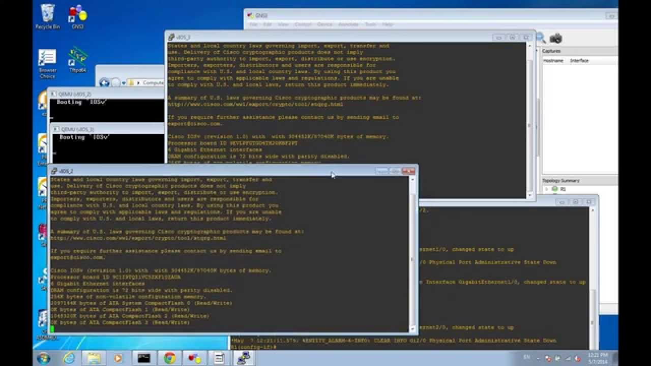 How-to get IOSv from onePK working in GNS3 by Stuart Fordham