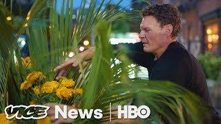 This Florist Secretly Plants Flower Arrangements Around NYC (HBO)