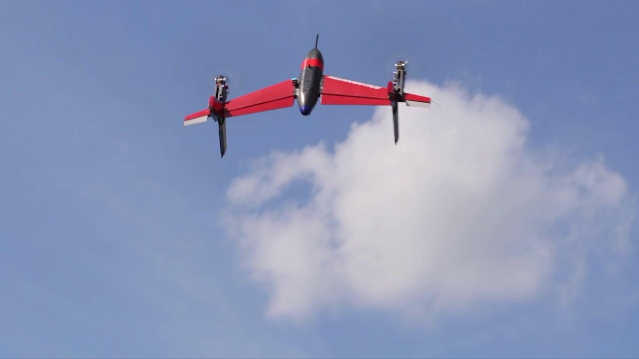 Heurobotics (ERAU) Taillsitter VTOL UAV