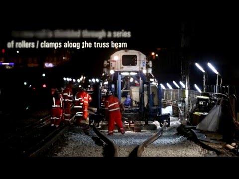Balfour Beatty's High Output New Track Construction (NTC) machine