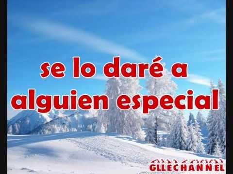 Glee - last christmas (letra en español)