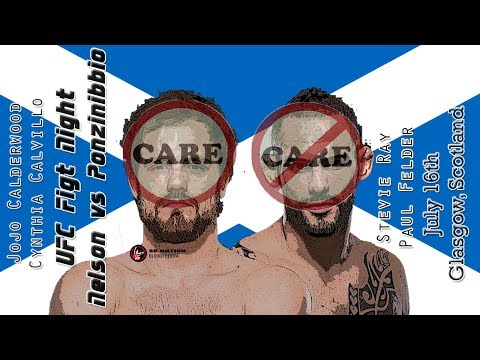 UFC Glasgow Care/Don't Care Preview