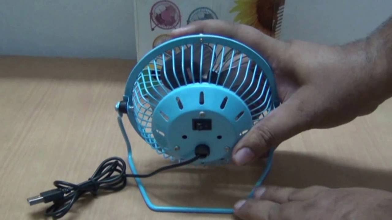 Mini USB Fan with 360 Degree Rotate: Feature and User Review (Hindi ...