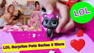 LOL Surprise Pets Series 3 Wave 2 Opening