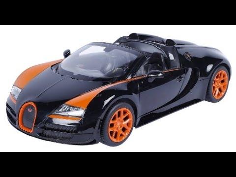Coche Juguete De Control Remoto Bugatti Veyron 16 4 Grand Sport