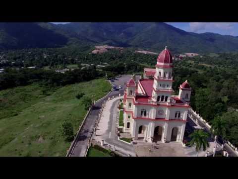 Santiago de Cuba desde el aire