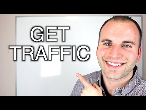 how to get traffic to a dating website