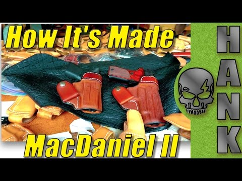 How It's Made : MacDaniel II Andrews Custom Leather