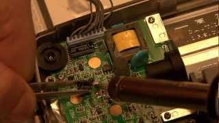 GameGear Reparatur Kondensatoren Schŗitt für Schritt tauschen.- lange Version