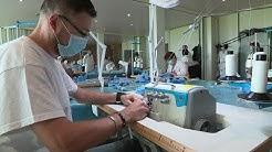 Valéo fabrique des masques à Etaples.