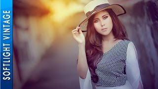 Photoshop Tutorial Effects - Soft Light Vintage