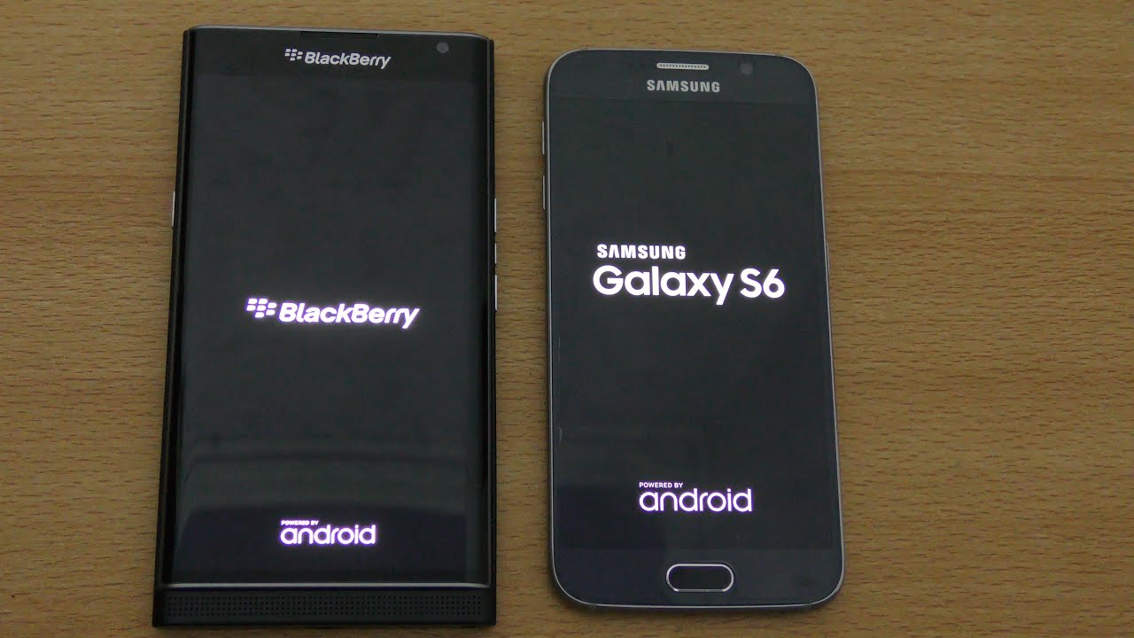 BlackBerry Priv and Samsung Galaxy S6 - Speed and Camera Comparison!