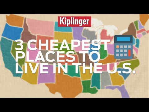 3 Cheapest Places to Live in the U.S.