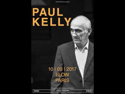 Paul Kelly - Live at Le Flow in Paris (10/09/2017)