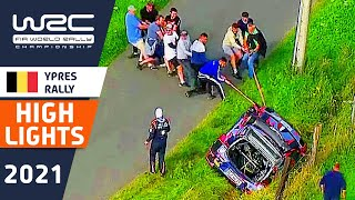 Renties Ypres Rally Belgium 2021 : HIGHLIGHTS Saturday Morning : WRC Rally Highlights and Results