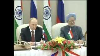 13th India-Russia Annual Summit: Signing of Agreements and Media Statements