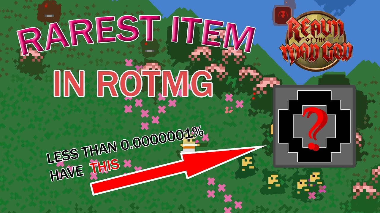 The MOST *RARE* ITEM in ROTMG!!! ROTMG SAVAGE AND FUNNY MOMENTS, VAULT AND  CHARACTER TOUR!!