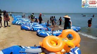 WATER SLIDE PERMAINAN AIR PANTAI KARANG JAHE - HASIL VIDEO WIT…