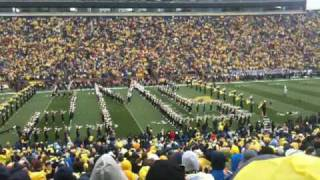 Michigan Band Entrance and Hail to the Victors vs. Penn State